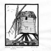 Old Weston Post Mill