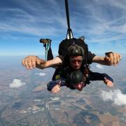 Skydive Appeal for Cheetah Conservation...